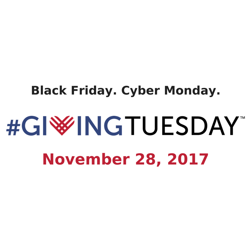 Giving Tuesday 28 Nov 2017